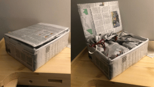Cheap/environmentally friendly alternative to the normal gift wrapping supplies. Used Cardboard box and old newspapers !: Trumps Syria Mfer  MOOLL0R NRN  OPINION  Our Kurdish Allles Shamefull  LETTERS TO THE  Roprowdh  ma perial Metals  e. A ye er re  Poley, owne  British  and such materias dran  poorly allowing water to  fatterand testerhe  NOINAO  Cler Kandiak A the  ALOLSALLTY  fthe  tentional biacknots  Ratherine  That was the a  re by case  bec  strat  trials  w ORRECTIONS  Cases  Harvest  pressurn  Shares of new farm tractors sold in the US.  suudenba sn  Share of Deere'sUS  construction equipoent sales Iandlord aboa ke  that are leased  d aip do saros  iar with the matte  Barnays has be  HNO  filed for banknuptr  oeppibg jo aes  stou  ot  Smp a dr pmom  fer was set for Tu  uo pasdde p  ur pdd ag  et IL t st PL IL or  aaad o n  20 h al fa on Mwn en  La st L IL  Swwde C rd odu he  aing  Central Propa mo  tment. GTCOM  Turns to a Crisis Pro to Lead Board  Baes Chi  ofcer Danilla V  Hrdronm fotlowing two deadly ceshe lines Grup le. and United lie Industry. Hes credited  Airtines Holdings in-don't with turning around the for  a0 ed Au o ades pu  funes of N  ielaen Holding PLC  Aunaham had heel  an offer to bur  airoraft until  Pmones  Parther cut or temparily hait pan chief eserutive e t  otrol  me s Am pe pwin do wo a esa  anigate the turinol as it tries  chairman of Caterp-  Ph  flntshed  IFTER  Facto  dn and  Mr. Calhoun, 62 years old.  Daley, who served with Mr  Calhoun on Boeing's beed  NOTICE TO RE  In mony hecause of a ahe  rein, ne f han thet regulati wo n has confronted othe major  nols headquarers  Directors and eserutives  porate  clesed Mondy  come White Bouse chief of  at pue a uda  posed splitting the chairman  ship from the chief esecutive  beld by Denais  Aenp  tory  do pey s RD h  INSID  claimed 346 lives. The MAX  m paodo  nd repeated dat e ha  ran General Klectrie e  planeengine btrusiness durin  roblems. Inside boardroo  Mr. Calhoun's personali