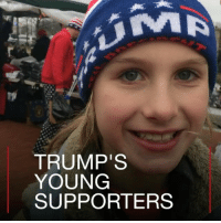 TRUMP'S  YOUNG  SUPPORTERS 21 JAN: Some of US President Donald Trump's supporters, who are not even old enough to vote yet, attended his inauguration filled with enthusiasm about the issues that made him the nation's new leader. They were candid about their hopes for a better America. For more reaction to the inauguration: bbc.in-trumpchildren inaugurationday inauguration inaug2017 DonaldTrump Trump president USPresident speech children kids youth young supporters immigration economy Mexico BBCShorts BBCNews @BBCNews