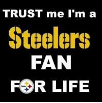 Fuck that loss. It's still steelers for life.: TRUST me I'm a  Steelers  FAN  FOR LIFE Fuck that loss. It's still steelers for life.