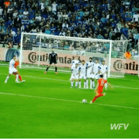 Memes, Best, and Free: truu:  YY  WFV  .1 Which free kick was the best? 🤔 - 1: Ronaldo 2: Bale 3: Messi 4: Pirlo 5: Sanchez 6: Sneijder - Follow us for more vids ✅