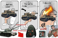 I was convinced to bring this page back to posting.  It's been stupidly active given the lack of posts for months.  We'll begin with a war thunder meme, it's currently my game of choice, again.  Real war tech coming later.: Try not to  Bet into  ru die  Cover  axaxaxax  cheeki breeki  die a lot I was convinced to bring this page back to posting.  It's been stupidly active given the lack of posts for months.  We'll begin with a war thunder meme, it's currently my game of choice, again.  Real war tech coming later.
