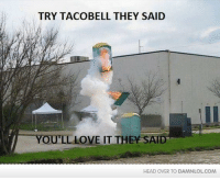 Damn! LOL: It burns when I poop...