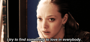 Love, Http, and Net: try to find something to love in everybody. http://iglovequotes.net/