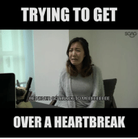 Love, Memes, and Link: TRYING TO GET  SGAG  HE  NEVER GOT BACK TO  MEEEEEEEEE  OVER A HEARTBREAK How aware are you of this <link in bio>? Have you fallen prey to LOVE? Or fallen victim to a SCAM? How about a LOVE SCAM?!