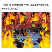 Drunk, Memes, and Worldstar: Trying to remember what you did when you  were drunk asf Trying to put the pieces together 🥃😩🤔 @worldstar WSHH