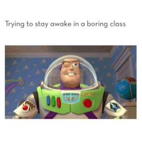 Bored, Funny, and Space: Trying to stay awake in a boring class  SPACE RANCO