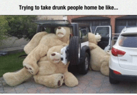 Be Like, Drunk, and Home: Trying to take drunk people home be like... <p>Impossible Task.</p>