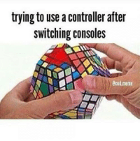 I'll never be able to play a fighting game on a PlayStation console...: trying to use a controller after  switching consoles  0cod meme I'll never be able to play a fighting game on a PlayStation console...