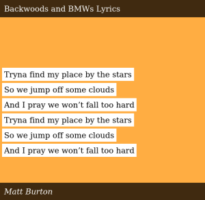 I Found My Place Lyrics