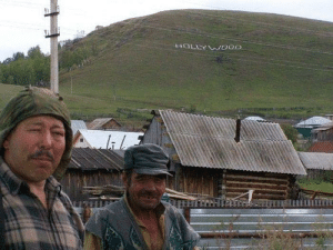 Early Settlers in California Discover the Hollywood Sign (c.1770, Colorized): ts  LIL Early Settlers in California Discover the Hollywood Sign (c.1770, Colorized)