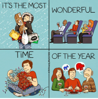 Memes, Buzzfeed, and Time: T'S THE MOST WONDERFUL  You  TIME  OF THE YEAR It's the hap-happiest season of all (by Maritsa Patrinos - BuzzFeed)
