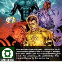 Which ring would you pick? ________________________________________________________ HalJordan GreenLantern WonderWoman JusticeLeague DC Superman Batman Supergirl DCEU Joker Flash Cyborg DarthVader Aquaman Robin MartianManhunter Deadpool Like Spiderman Rebirth DCRebirth Like4Like Facts Comics BvS StarWars Marvel CW Disney DCComics: T'S TIME  TO BEWARE  OUR  POWER  When Krona took over the Green Lantern Corps, Earth's  Green lanterns agreed to take on the rings of members  of the other lanterns. Hal chosed the Sinestro ring, Guy  took the Red Lantern ring, John used the Indigo Tribe  ring, and Kyle used the Blue Lantern ring.  COMIC SOURCE Which ring would you pick? ________________________________________________________ HalJordan GreenLantern WonderWoman JusticeLeague DC Superman Batman Supergirl DCEU Joker Flash Cyborg DarthVader Aquaman Robin MartianManhunter Deadpool Like Spiderman Rebirth DCRebirth Like4Like Facts Comics BvS StarWars Marvel CW Disney DCComics
