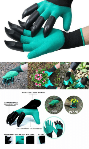 tsuyuuuu: ubercharge:  solarpunk-aesthetic: Garden claws! Very useful both for digging and for Black Panther impressions! someone please post the gif  : tsuyuuuu: ubercharge:  solarpunk-aesthetic: Garden claws! Very useful both for digging and for Black Panther impressions! someone please post the gif