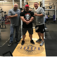 One amazing day for @sinisterlabs team meeting with our distribution partners @europasports at there HQ in North Carolina. - Thank you to @bigehillman and @jeffcompton1 and the whole @europasports sales team for there hospitality today, showing us the state of the art facility and warehouse, talking businesses, bodybuilding, rugby and old stories and the history of Europa. I Even got to sneak in a workout at there HQ gym. - Pumped about the future of @sinisterlabs time to grow this! GreatDay Europa sinisterlabs angrymills flexlewis FeelingSinister: TT  FEINpS  EUROPR  f0.D U  UCT s  DUC  N One amazing day for @sinisterlabs team meeting with our distribution partners @europasports at there HQ in North Carolina. - Thank you to @bigehillman and @jeffcompton1 and the whole @europasports sales team for there hospitality today, showing us the state of the art facility and warehouse, talking businesses, bodybuilding, rugby and old stories and the history of Europa. I Even got to sneak in a workout at there HQ gym. - Pumped about the future of @sinisterlabs time to grow this! GreatDay Europa sinisterlabs angrymills flexlewis FeelingSinister