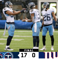 Memes, Giants, and 🤖: TTANS  26  FINAL FINAL: The @Titans shutout the Giants! #TitanUp  #TENvsNYG https://t.co/HACItkBKxO
