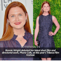 — goodnight! I hope you had a great Tuesday! I think there's a storm tonight, I really hope there's no thunder yikes [snitchseeker.com] ⠀⠀⠀⠀⠀⠀⠀⠀⠀⠀⠀⠀⠀ — Q: Favorite actor-actress? harrypotter fandoms: TTeRFaGT  Bonnie Wright debuted her latest short film and  directorial work, Phone Call, atthis year's Tribeca Film  Festival. — goodnight! I hope you had a great Tuesday! I think there's a storm tonight, I really hope there's no thunder yikes [snitchseeker.com] ⠀⠀⠀⠀⠀⠀⠀⠀⠀⠀⠀⠀⠀ — Q: Favorite actor-actress? harrypotter fandoms