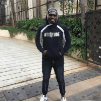 Click, Memes, and Attitude: TTIIT  ATTITUDE Latest click of the Universe boss Chris Gayle !
