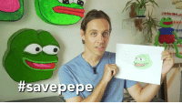 Pepe is love. Pepe the Frog was stolen by white supremacists. His creator is trying to save him. #savepepe original: https://www.youtube.com/watch?v=1q6n1Yj3kRs: ttsavepe Pepe is love. Pepe the Frog was stolen by white supremacists. His creator is trying to save him. #savepepe original: https://www.youtube.com/watch?v=1q6n1Yj3kRs