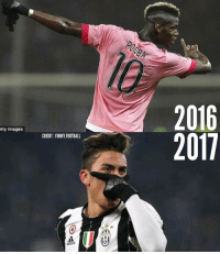 Then and now! Tag a friend 👇: tty Images  CREDIT FUNNY FOOTBALL  oddos  2016  2011 Then and now! Tag a friend 👇