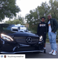 What did you get for your 16th birthday? Well, Floyd Mayweather bought his son a Mercedes.: tu a floyd mayweather What did you get for your 16th birthday? Well, Floyd Mayweather bought his son a Mercedes.