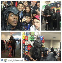 Dwight Howard goes to Comic Con in full garb. 👀💯: tu dwight howard Dwight Howard goes to Comic Con in full garb. 👀💯