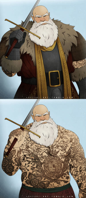 leftski-art:  Merry Christmas and happy holidays, everybody!This is my paladin who is definitely not Santa for an upcoming 5e holiday one-shot: TU M BLR.CO M  LEFT SKI - A RT.   LEFT SKI -  ART.  TUMBLR.COM leftski-art:  Merry Christmas and happy holidays, everybody!This is my paladin who is definitely not Santa for an upcoming 5e holiday one-shot