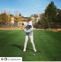 Club, Sports, and Golf: tu O jt laybourne Well that's a new way to swing a golf club...😳 (via @jt_laybourne, h-t @houseofhighlights)