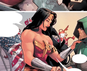 tubeztheone:  Can we all just appreciate how the artist of the Green Arrow comic drew Wonder Woman?!Yaaaas: tubeztheone:  Can we all just appreciate how the artist of the Green Arrow comic drew Wonder Woman?!Yaaaas