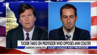 """On """"Tucker Carlson Tonight,"""" Aaron Hanlon, an Assistant Professor at Colby College, said conservative groups are inviting """"deliberately provocative"""" speakers to campuses, and liberals """"fall into that trap."""" What do you think? (For more on this story, visit FoxNewsInsider.com.): TUCKER TAKES ON PROFESSOR WHO OPPOSES ANN COULTER  AARON HANLON  COLBY COLLEGE ASST PROFESSOR On """"Tucker Carlson Tonight,"""" Aaron Hanlon, an Assistant Professor at Colby College, said conservative groups are inviting """"deliberately provocative"""" speakers to campuses, and liberals """"fall into that trap."""" What do you think? (For more on this story, visit FoxNewsInsider.com.)"""
