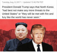 """Donald Trump, Fire, and Memes: Tuesday, Aug. 8, 2017 