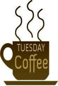 Good morning. Happy Tuesday.  Sean: TUESDAY  Coffee Good morning. Happy Tuesday.  Sean
