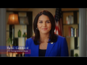 Bernie Sanders, News, and Tumblr: Tulsi Gabbard  US Congresswoman berniesrevolution:  BREAKING NEWS: Rep. Tulsi Gabbard of Hawaii has resigned from her position as Vice-chair of the DNC and has endorsed Bernie Sanders campaign for President of the United States! Tulsi Gabbard was one of the few within the DNC to defend Bernie and call for more debates for the Democrats. She has also been floated around progressive circles as an excellent VP choice for Sanders.  As a young, progressive, woman of color with a military and foreign policy background, Gabbard and Sanders would make a killer pair in the Election. We can't wait to see her on the campaign trail!