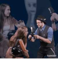 "Tumblr, Blog, and Evil: tumblr <p><a href=""https://stardom.tumblr.com/post/176094440750/issa-sdcc-exclusive-the-nuns-taissa-farmiga-and"" class=""tumblr_blog"">stardom</a>:</p><blockquote><p>Issa SDCC exclusive! <i>The Nun</i>'s Taissa Farmiga and director Corin Hardy seem to have a…habit…of fighting with the evil sisters of the cloth.</p></blockquote>"