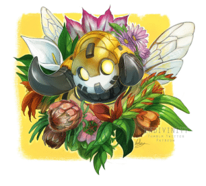 Love, Tumblr, and Twitter: TUMBLR TWITTER  PATREON endivinity:  I love Orisa and I love bees and the Chengdu Hunters skin makes her look like the best of both worlds!!