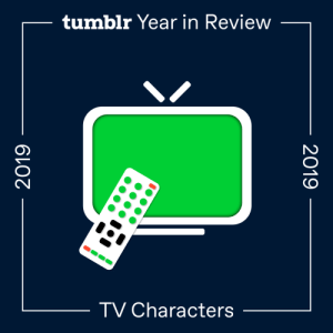 Game of Thrones, Gif, and Target: tumblr Year in Review  TV Characters  2019  2019 fandom:  2019's Top TV Characters  While it seems like half of Westeros is on this list, not even the Queen in the North could beat the unlikely pair who came out on top.  Crowley | Good Omens  Aziraphale | Good Omens  Klaus Hargreeves | The Umbrella Academy  Daenerys Targaryen | Game of Thrones  Sansa Stark | Game of Thrones  Arya Stark | Game of Thrones  Jon Snow | Game of Thrones  Catra | She-Ra and the Princesses of Power  Adrien Agreste (Chat Noir) | Miraculous: Tales of Ladybug & Cat Noir  Steve Harrington | Stranger Things  Jaime Lannister | Game of Thrones  Dean Winchester | Supernatural  Adora (She-Ra) | She-Ra and the Princesses of Power  Pearl | Steven Universe  Keith Kogane | Voltron: Legendary Defender  Marienette Dupain-Cheng (Ladybug) | Miraculous: Tales of Ladybug & Cat Noir  Pink Diamond | Steven Universe  Diego Hargreeves | The Umbrella Academy  Lance McClain | Voltron: Legendary Defender  Billy Hargrove | Stranger Things  White Diamond | Steven Universe  Brienne of Tarth | Game of Thrones  Vanya Hargreeves | The Umbrella Academy  Ben Hargreeves | The Umbrella Academy  Blue Diamond | Steven Universe  Number Five | The Umbrella Academy  Castiel | Supernatural  Yellow Diamond | Steven Universe  Lena Luthor | Supergirl  Sam Winchester | Supernatural  Luther Hargreeves | The Umbrella Academy  Peridot | Steven Universe  Garnet | Steven Universe  Allison Hargreeves | The Umbrella Academy  Kara Danvers | Supergirl  Villanelle | Killing Eve  Clarke Griffin | The 100  Jake Peralta | Brooklyn Nine-Nine  Lapis Lazuli | Steven Universe  Bran Stark | Game of Thrones  Lucas Lallemant | SKAM France  Will Byers | Stranger Things  Bellamy Blake | The 100  Matteo Florenzi | Druck  Cyrus Goodman | Andi Mack  Tyrion Lannister | Game of Thrones  Mike Wheeler | Stranger Things  TJ Kippen | Andi Mack  Cersei Lannister | Game of Thrones  Glimmer | She-Ra and the Princesses of PowerThis list is new. Hooray!