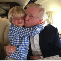 Tristan Trump and Donald Trump on their way back to NYC from Florida! Trumplicans PresidentTrump POTUS45 TrumpTrain: Tunisian man who is suspected of ties  to Berlin attacker detained in Germany Tristan Trump and Donald Trump on their way back to NYC from Florida! Trumplicans PresidentTrump POTUS45 TrumpTrain