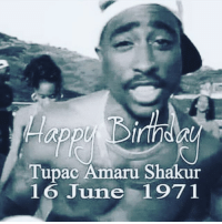 Happy Birthday King! Today you would been 42 years old! I can only imagine how much different these brothers mind would be if you was still out here giving them something to think about !!! BlackKing revolutionary they didn't really tell your story in the movie but it was still good it made me smile ☺️ They was scared of you! 😔 you still the greatest Dead or Alive!!! 💯 At 25 years old 75 million record sold, 11 Platinum Albums, 9 Movies!!! TheKing TuPac AllEyezOnMeMovie BlackKing NeverForget HisMessage revolutionary: Tupac Amaru Shakur  16 June 1971 Happy Birthday King! Today you would been 42 years old! I can only imagine how much different these brothers mind would be if you was still out here giving them something to think about !!! BlackKing revolutionary they didn't really tell your story in the movie but it was still good it made me smile ☺️ They was scared of you! 😔 you still the greatest Dead or Alive!!! 💯 At 25 years old 75 million record sold, 11 Platinum Albums, 9 Movies!!! TheKing TuPac AllEyezOnMeMovie BlackKing NeverForget HisMessage revolutionary