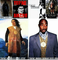 @Regrann from @know_thy_self_13 - Tupac was named after Tupac Amaru II who was an Emperor of the Inca Empire in Peru & led an uprising against Spanish soldiers in his country in 1780 . Rp @romosucks9 Ephesians 6:12-13(KJV) 12 For we wrestle not against flesh and blood, but against principalities, against powers, against the rulers of the darkness of this world, against spiritual wickedness in high places.😴 IT'S DEEPER THAN YOU CAN IMAGINE. PacTaughtMe TupacAmaruShakur LegendsNeverDie EnergyNeverDies Reincarnation - regrann: TUPAC  KU  AMARO  TUPAC AMARUI  TUPAC AMARU ll (1E45-1572)  TUPAC AMARU gHAKUR (197-1996 @Regrann from @know_thy_self_13 - Tupac was named after Tupac Amaru II who was an Emperor of the Inca Empire in Peru & led an uprising against Spanish soldiers in his country in 1780 . Rp @romosucks9 Ephesians 6:12-13(KJV) 12 For we wrestle not against flesh and blood, but against principalities, against powers, against the rulers of the darkness of this world, against spiritual wickedness in high places.😴 IT'S DEEPER THAN YOU CAN IMAGINE. PacTaughtMe TupacAmaruShakur LegendsNeverDie EnergyNeverDies Reincarnation - regrann