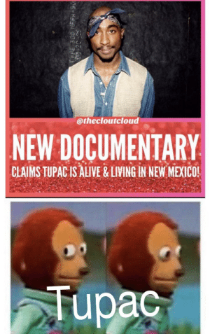 Tupac shaking in his boots.: Tupac shaking in his boots.