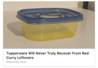 Tumblr, Blog, and Http: Tupperware Will Never Truly Recover From Red  Curry Leftovers  theonion.com countersignal:This isn't even satire anymore