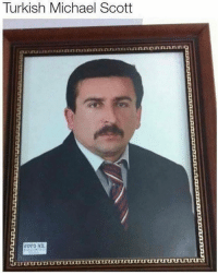 The Turkish office is apparently extremely underrated: Turkish Michael Scott  FOTO NIL The Turkish office is apparently extremely underrated