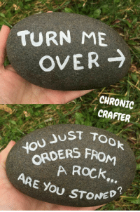 """<p>Are you stoned? via /r/memes <a href=""""http://ift.tt/2tVfahu"""">http://ift.tt/2tVfahu</a></p>: TURN ME  OVER  CHRONIC  CRAFTER  JUST TOo  ORDERS  ARE You STONE  A ROCk <p>Are you stoned? via /r/memes <a href=""""http://ift.tt/2tVfahu"""">http://ift.tt/2tVfahu</a></p>"""
