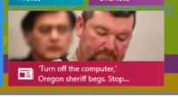 Bad, Target, and Tumblr: Turn off the computer,  Oregon sheriff begs. Stop... timcuckley: me when yall make bad posts
