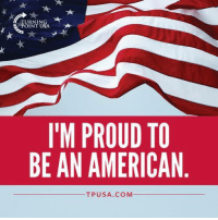 Memes, American, and Proud: TURNIN  POINT USA  I'M PROUD TO  BE AN AMERICAN  TPU SA. COM YES! #BigGovSucks