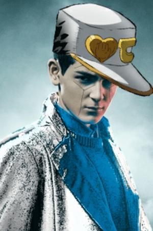 Turning DC characters into JoJo characters day 1: Bruce Wayne as DiU Jotaro: Turning DC characters into JoJo characters day 1: Bruce Wayne as DiU Jotaro