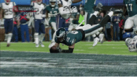 Philadelphia Eagles, Memes, and Superbowl: TURNING  POINT Needing a score, the @Eagles summoned @ZERTZ_86 in the @SuperBowl.  And he delivered. #SBLII #NFLTurningPoint (via @nflfilms) https://t.co/6FvVNdY1wW