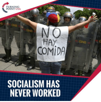"Charlie, Memes, and Socialism: TURNING  POINT USA  NB  GNB  NO  HAY  COMIDA  GNB  GNB  SOCIALISM HAS  NEVER WORKED TRUTH! Charlie Kirk DESTROYS The Argument That ""Socialism Has Never Been Tried""   ...MUST WATCH! #SocialismSucks"