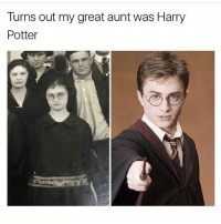 This is still the best @_kevinboner: Turns out my great aunt was Harry  Potter This is still the best @_kevinboner