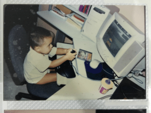 Turns out, since toddler I belonged to the PCMasterRace.: Turns out, since toddler I belonged to the PCMasterRace.