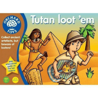 Ancient, British, and Box: Tutan loot 'e  CHA  ,  Collect ancient  artefacts, but  beware of  looters!  With  educational  guide on  the box  reverse  age  5+  ployer British Archaeologists (Circa 1900)